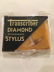 Transcriber-Diamond-Phonograph-Stylus-141-For-Varco-Cartridge-TN-48-New