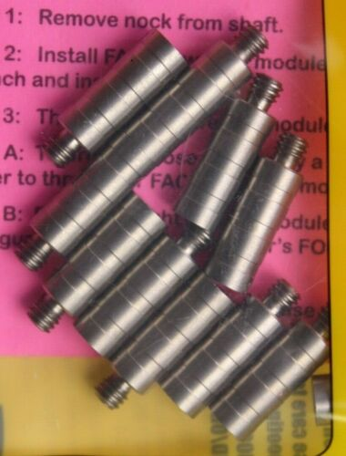 Adattatore di camma 0.246 NUOVO 12 pezzi oro Tip fact sistema weight ws2465012 50gr