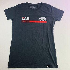 California-Womens-T-Shirt-Real-Colors-Grey-Tee