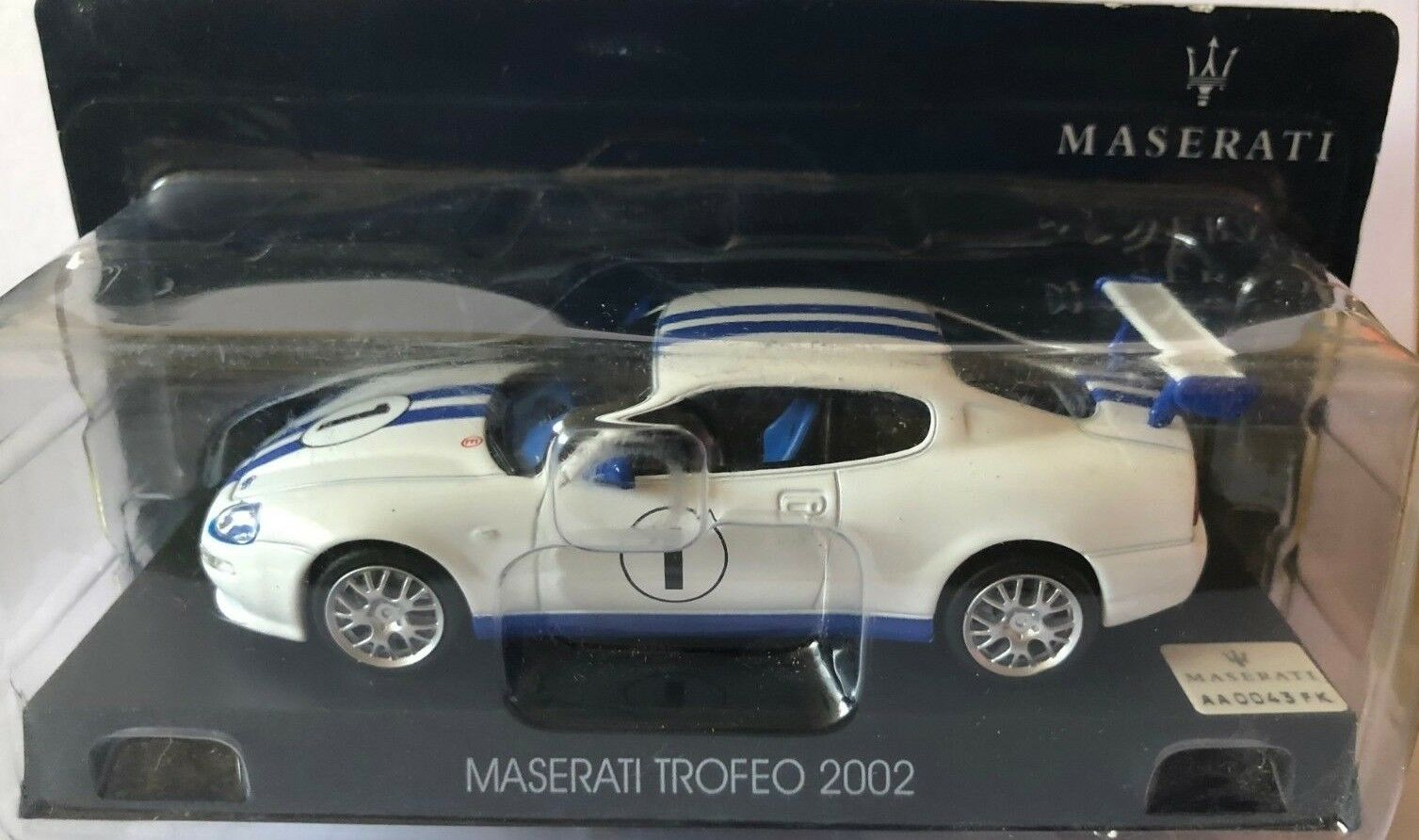 MUERE EL MOLDE   MASERATI TROFEO 2002   MASERATI COLLECTION ESCALA 1 43