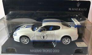 DIE-CAST-034-MASERATI-TROFEO-2002-034-MASERATI-COLLECTION-SCALA-1-43