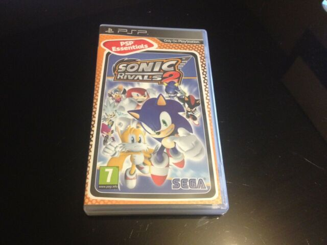 SONIC RIVALS 2 // EDITION ESSENTIALS // SONY PSP // COMPLET