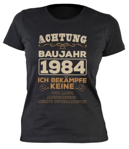 Frauen Geburtstag 35 Jahre Jahrgang 1984 Spruch 1984-35.Geburtstag für Damen