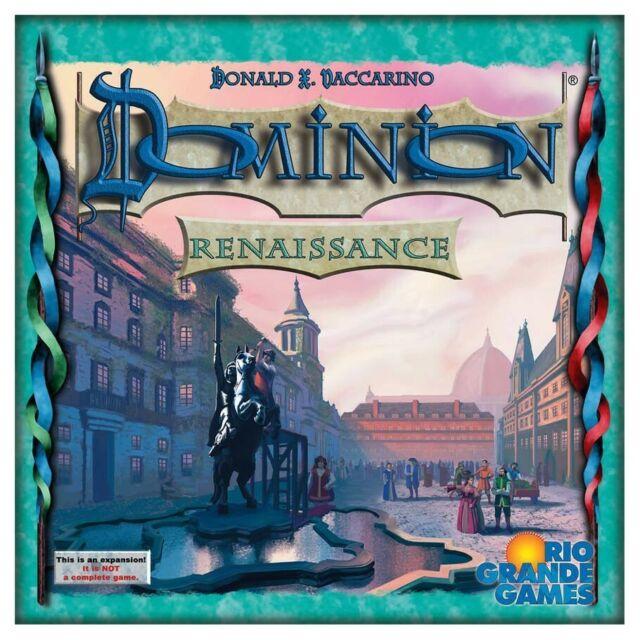 Dominion: Renaissance Expansion by Rio Grande Games RGG558