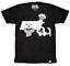 Mass Map BOSTON EXCLUSIVE Johnny Cupcakes Men/'s T-Shirt