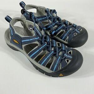 Women-039-s-Keen-sport-sandals-size-8-5-blue-shoes-outdoor-water-sports-hiking