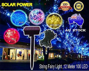 100-LED-Solar-Power-Fairy-String-Light-Outdoor-Xmas-Party-Wedding-Garden-Decor