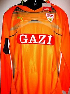 VfB-Gardien-de-but-Maillot-Jersey-S-XL-neuf-Puma-Orange-HOMMES-SOUABE-ST