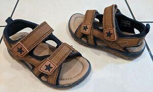 Tan Sandals, Strap, Infant Size