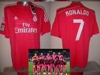 Real Madrid Jersey Adidas Ronaldo Bale James Ramos BNWT S M L XL Soccer Shirt