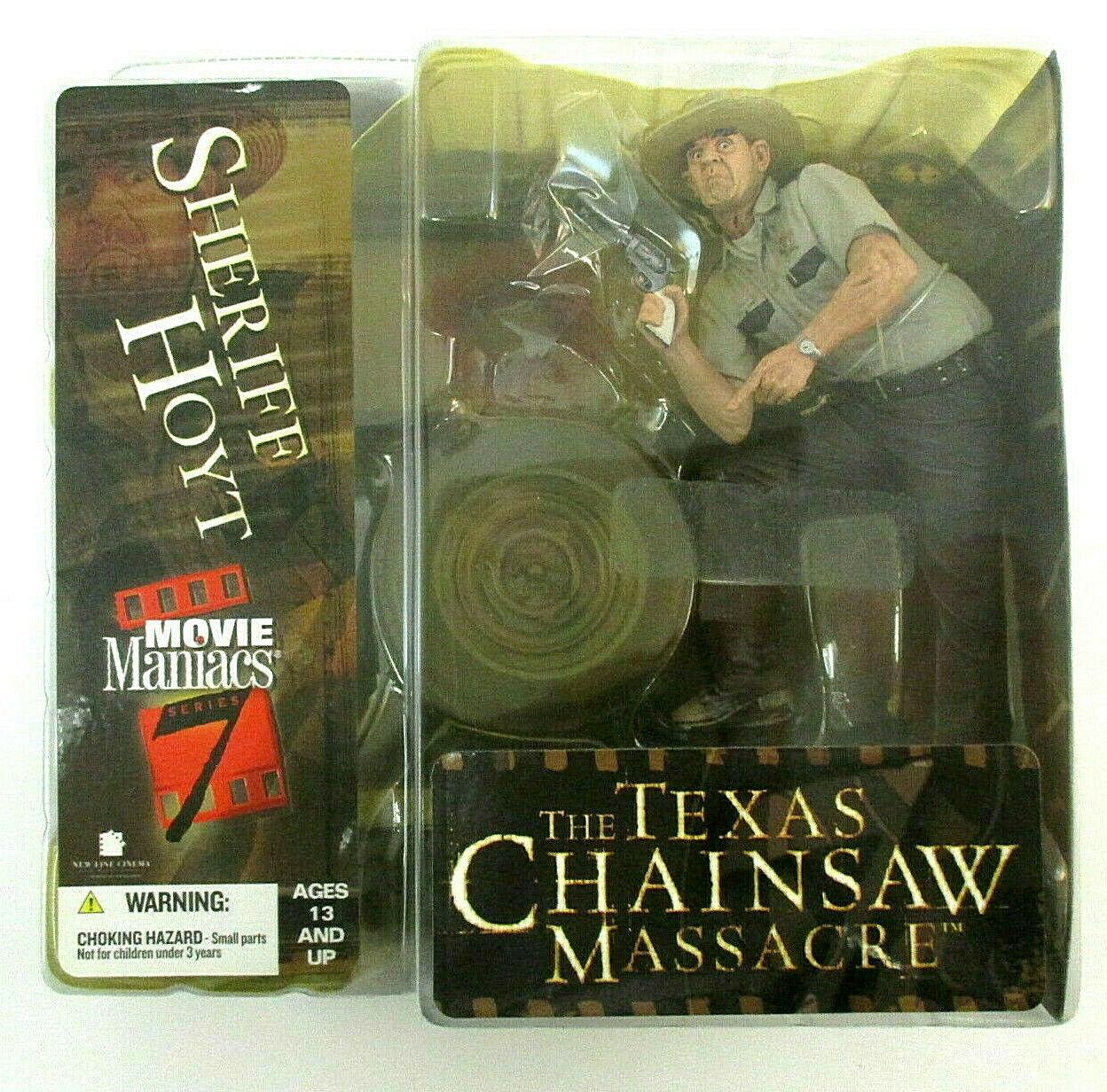 Movie Maniacs TEXAS CHAINSAW SHERIFF HOYT figura PVC 16cm