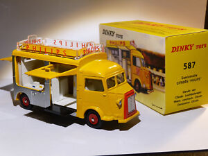 Camionnette-Citroen-HY-Philips-ref-587-au-1-43-de-dinky-toys-atlas