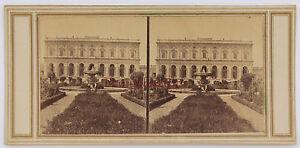 Italia-Italia-Palais-a-Identificare-Stereo-Vintage-Albumina-Ca-1865