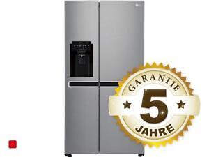 Kühlschrank Lg : Lg gsj pzuz side by side kühl gefrier kombination steel