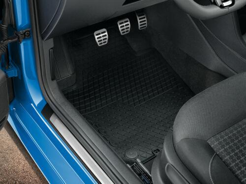 Original Fußmatten Gummifußmatten VW Polo 6R vorne /& hinten  6R1061500A 82V