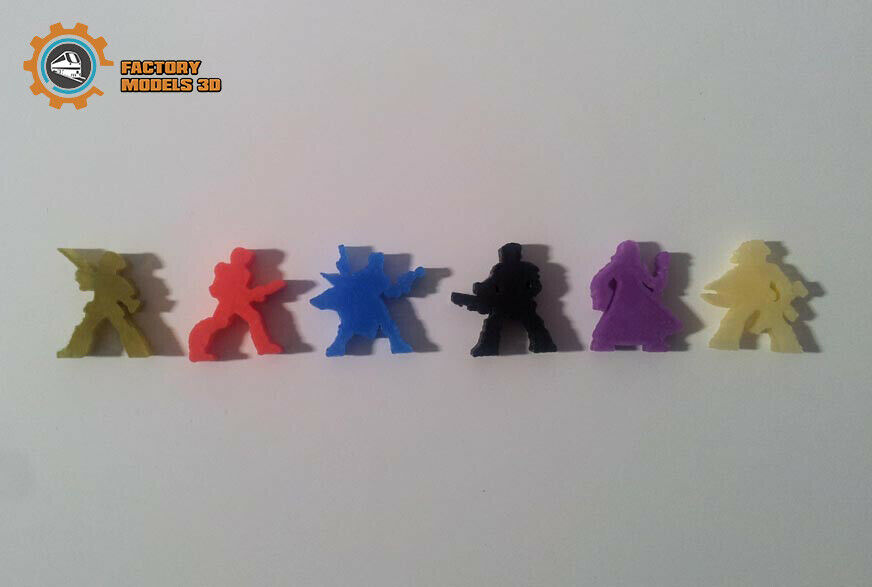 estar en gran demanda Dune Juego mesa     Board Juego (Upgrade Pack) Meeples Tokens  diseño simple y generoso