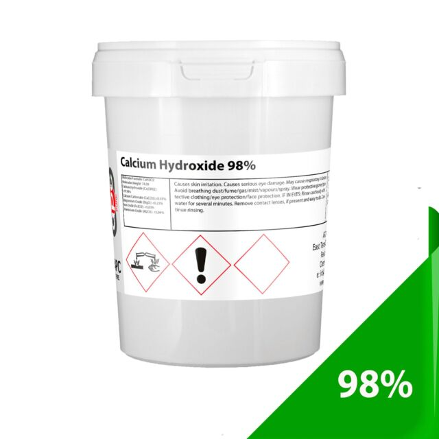 1Kg Calcium Hydroxide 98% Pure (Reef Kalkwasser)