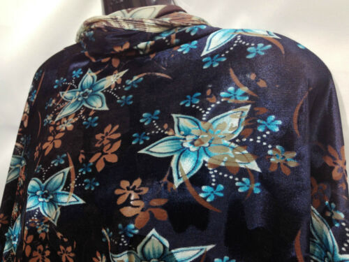*SPECIAL OFFER* Top Quality Burnout Velvet In Floral Print Dress//Crafts Fabric