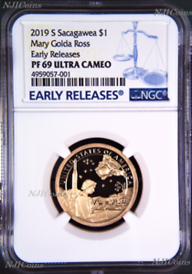 2019-S-Proof-Native-American-Mary-Ross-NGC-PF69-ER-Dollar-1-Coin