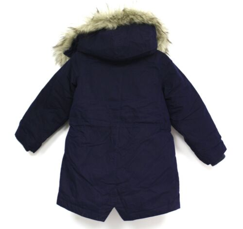 J Crew Crewcuts Boys Jacket Parks Fishtail navy Down Feather Fill