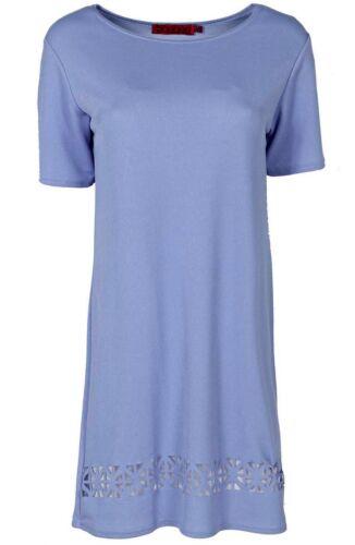 Donna MILEY LASER CUT Shift Dress Size 8,10,12,14,16