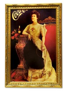 Museum-Framed-Coca-Coca-Advertising-11-75x17-5-Lot-1867842