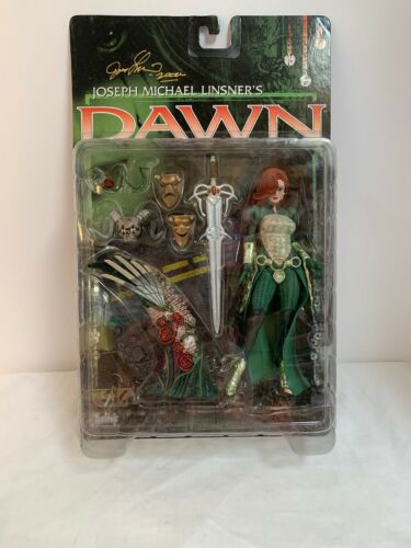 McFarlane DAWN Diamond Comics Exclusive Figure Vert tenue LINSNER 1999
