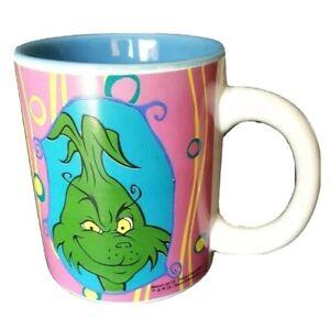 The Grinch Christmas Coffee Mug Cup Ceramic Multi Color Dr Seuss  C1 8 fl oz