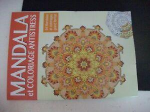 C Mandala Et Coloriage Antistress N 12 54 Mandalas Et Coloriages Grand Format Ebay