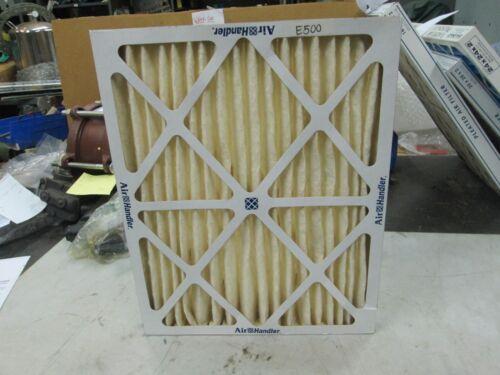 "Air Handler Pleated Air Filter 16/""x20/""x2/"" Class 2 Lot of 4 NIB"