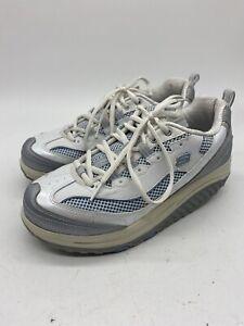 Skechers-Shape-Ups-8-5-Womens-Slip-Resistant-Work-Walking-Shoes-11803-WSLB