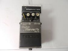 Boss RV-2 Reverb Guitar Effect Pedal