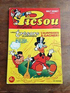 PICSOU-magazine-74-1978-edi-monde-walt-disney-1ere-serie