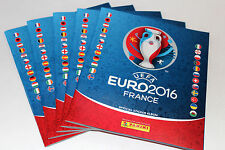 Panini UEFA EM EURO 2016 FRANCE – 5 x LEERALBUM EMPTY ALBUM INTERNATIONAL ED.