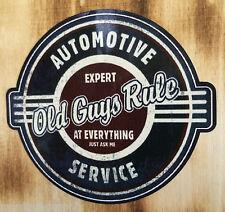"Rockabilly Aufkleber oldschool ""Old Guys"" Oldtimer Sticker US Car V8 Custom"