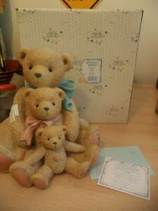 GIANT-VINTAGE-BOXED-retired-cherished-teddies-TEDDY-BEAR-THEADORE-tyler-951196