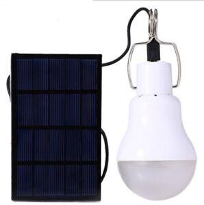 Lampe-D-039-Ampoule-LED-Alimente-Par-Panneau-Solaire-Lampe-D-039-Energie-Pour-Tente-d-K7