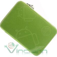 Custodia ANDROID verde neoprene per Samsung Galaxy TAB 2 10.1 P5100 P5110 CNV9