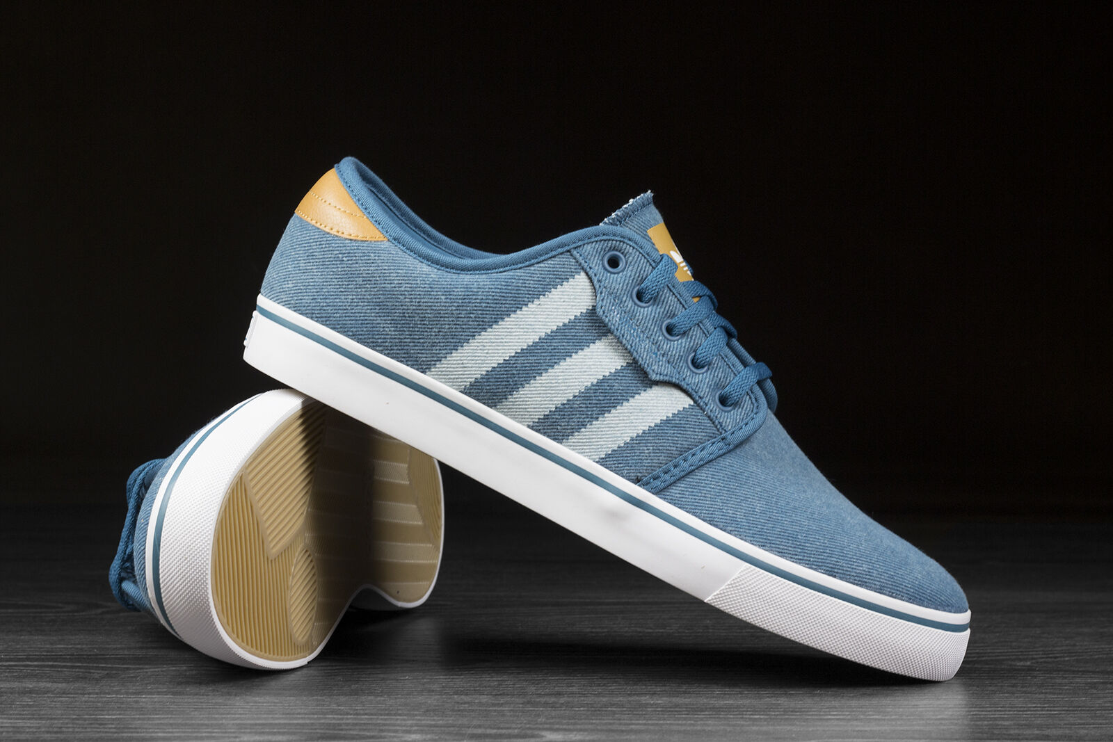 ADIDAS ORIGINALS SEELEY Zapatillas para hombre Denim C76931