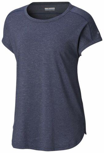 Columbia Women/'s Walkabout Tee Choose SZ//color Cirrus Grey Stripe