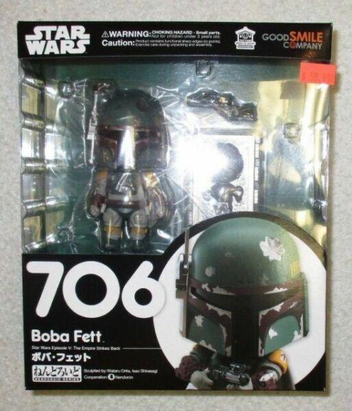 Nendoroid Star Wars The Empire Strike Back Boba Fett PVC Figure Model Toy #F706