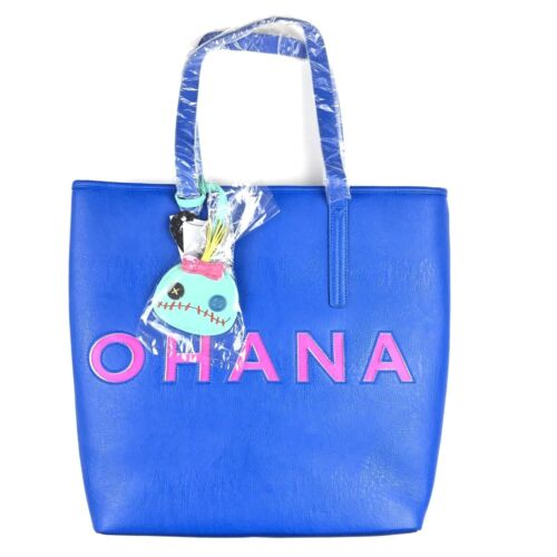 azul Loungefly Bolso X de y puntada Disney mano rosa de Ohana sintética piel Lilo HrqrAY