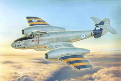 MPM 1//72 Gloster Meteor Mk 4 FUERZA AEREA ARGENTINE nº 72554