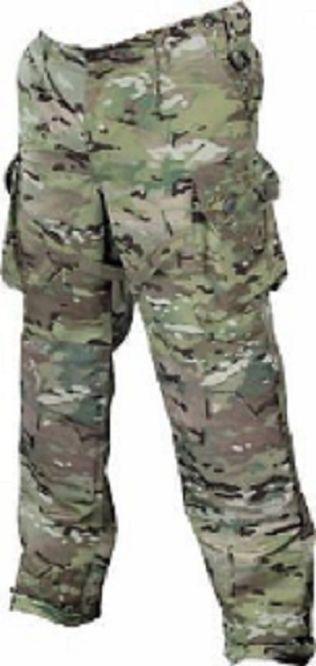 Bundeswehr German Army KSK MULTICAM KAMPFHOSE Camouflage Hose pants L Large    Tadellos