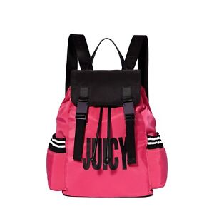 81b4b44509fd Juicy By Juicy Couture JCH0085 Kinney Multi Pocket Backpack Pink ...