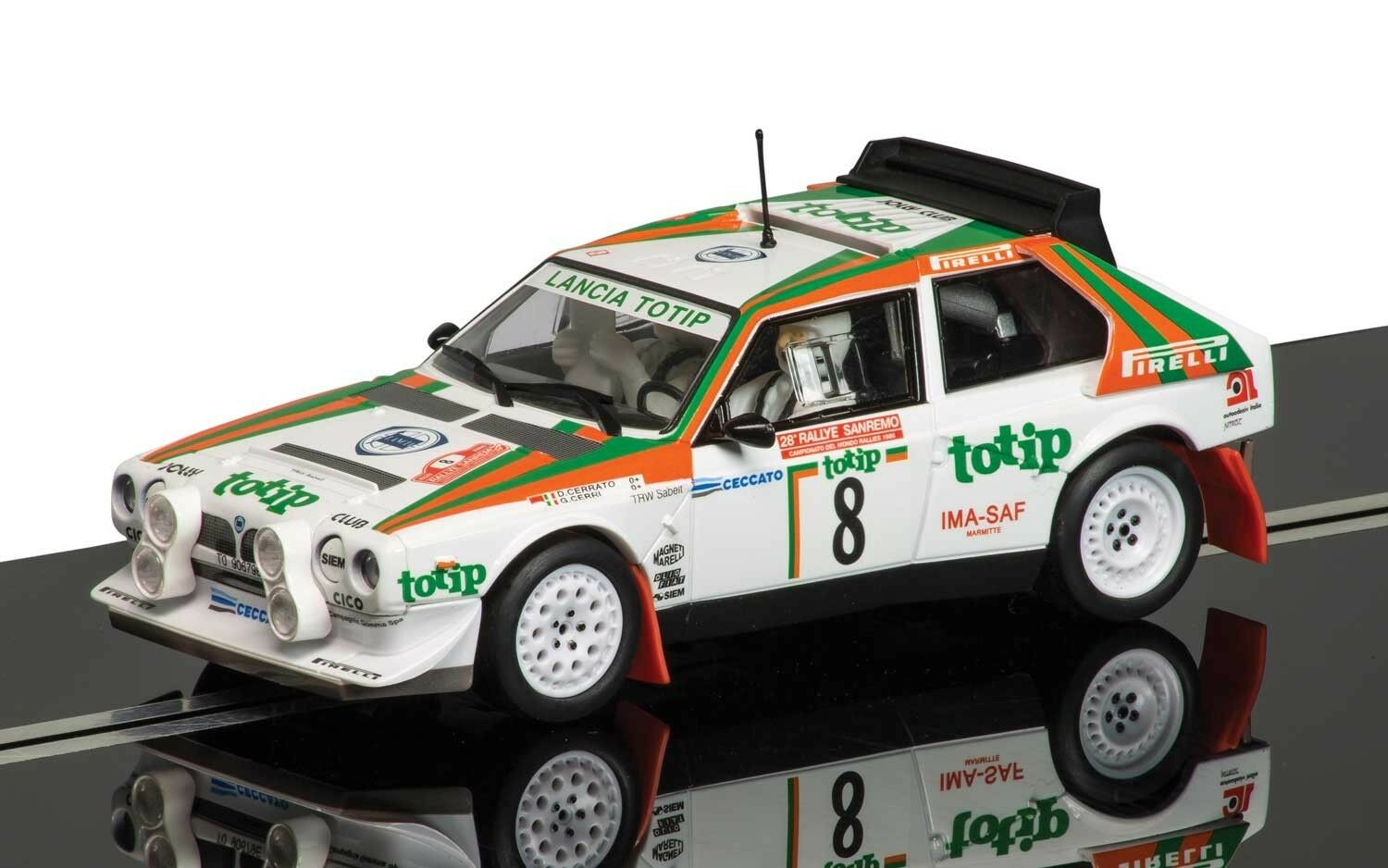 C3638 Scalextric Lancia Delta S4 New Boxed