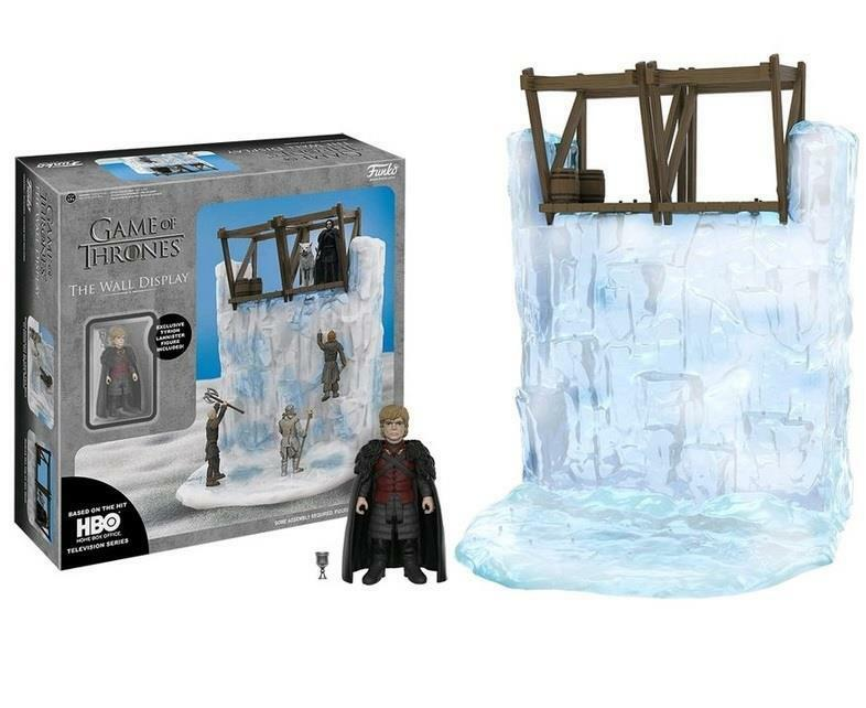 Game of thrones 13  die mauer - display & tyrion 3 3   4  - figur.