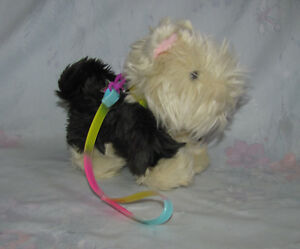 American-Girl-Doll-Terrier-Puppy-with-Rainbow-Leash-and-Collar