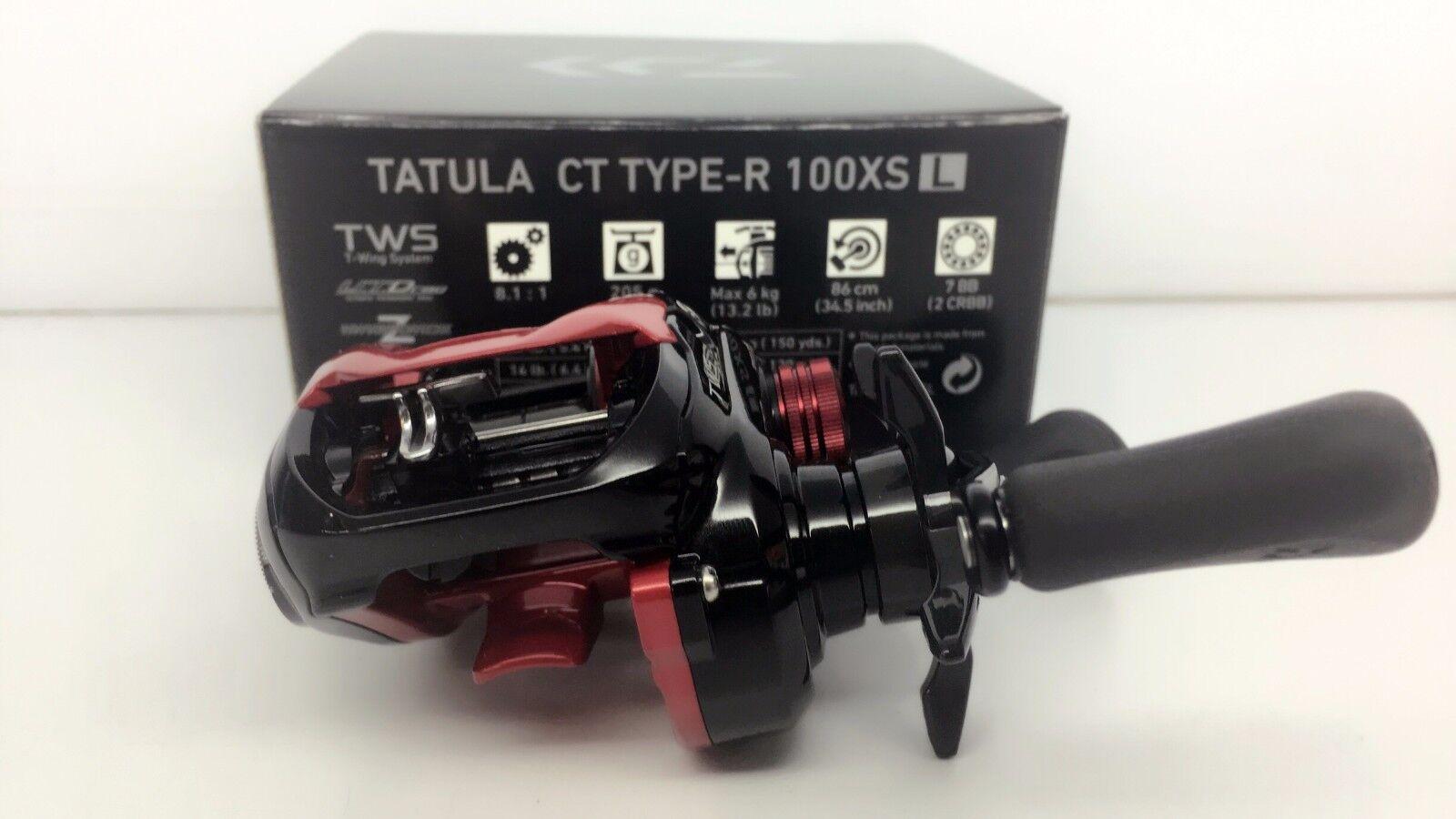 Daiwa Tatula CT Type-R 100XSL reel Left 100 XSL Fedex Priority 2days to Usa
