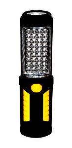 Objectif 36+5 Led Lampe De Poche Travail éclairage Lampe De Travail Atelier Lampe Lampe Main/-afficher Le Titre D'origine Bon GoûT